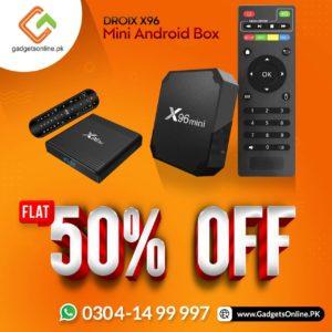 DroiX X96 Mini Android Box discount