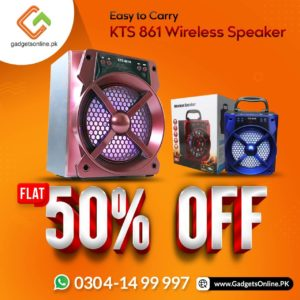 KTS 861 AB Wireless Speaker on sale