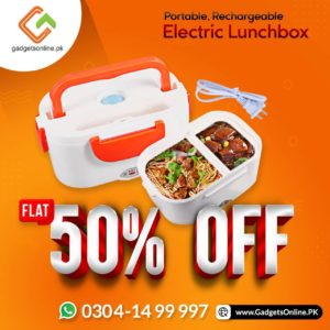 Electric lunch box at whopping discount in Pakistan