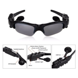 wireless bluetooth sunglases for music and phone listening