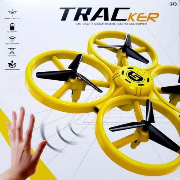 tracker drone UAV Intelligent Sensor Gesture Reomote Control Flying Quadcopter