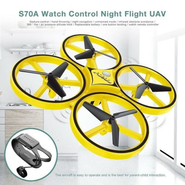 tracker drone quadcopter aerial vehicle